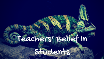 Teachers' Belief In Students