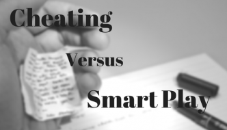 Cheating vs Smart Play