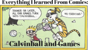 Everything I learned from comics: Calvinball and Games